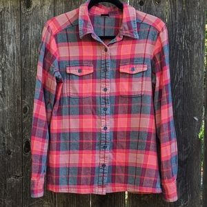 Patagonia Long Sleeved Fjord Flannel Shirt